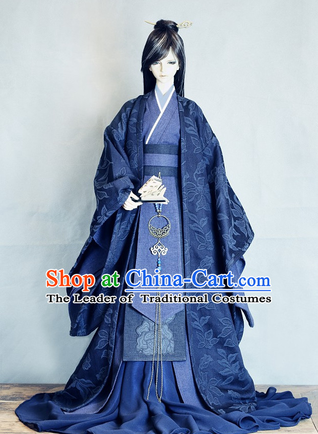 Ancient Chinese Prince Costumes Clothing Traditional Costumes Hanfu Complete Set