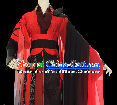 Men Dress Palace Stage Performance Dresses Traditional Chinese Mandarin Clothing Hanfu Costume