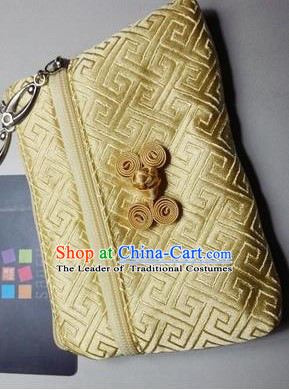 Chinese Style Purse Change Holder Chinese Traditional Bag for Changes
