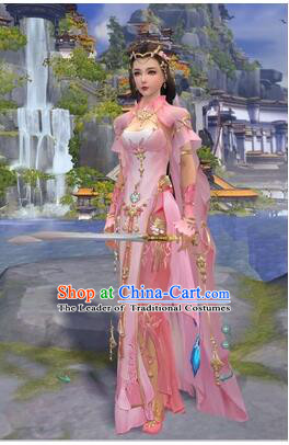 Chinese Cos Fairy Costume Garment Dress Costumes Dress Adults Cosplay Asian King Clothing