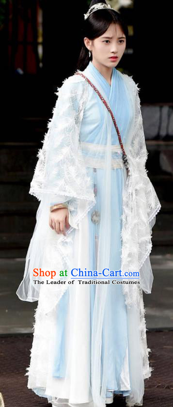 Traditional Chinese Tang Dynasty Princess Costume, Asian China Ancient Palace Lady Embroidered Clothing for Women