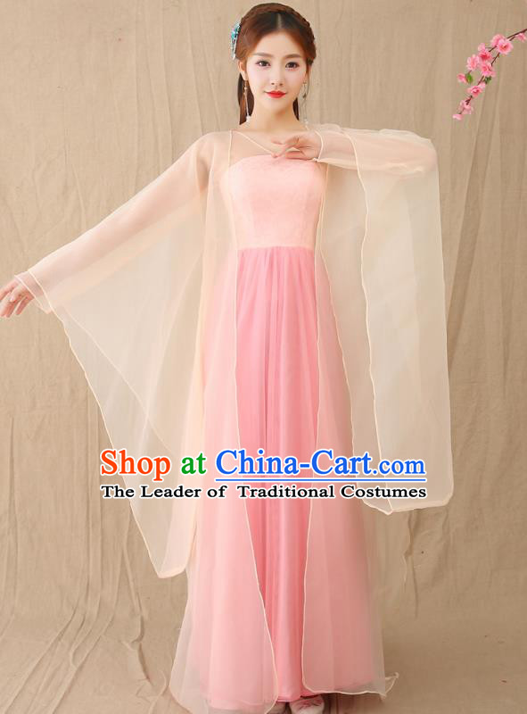 Traditional Chinese Tang Dynasty Female Court Attendant Costume, China Ancient Princess Hanfu Clothing for Women