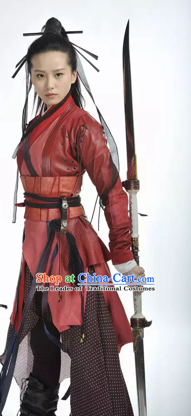 Ming Dynasty Wulin Swordswoman Knight Costume Super Hero Costume