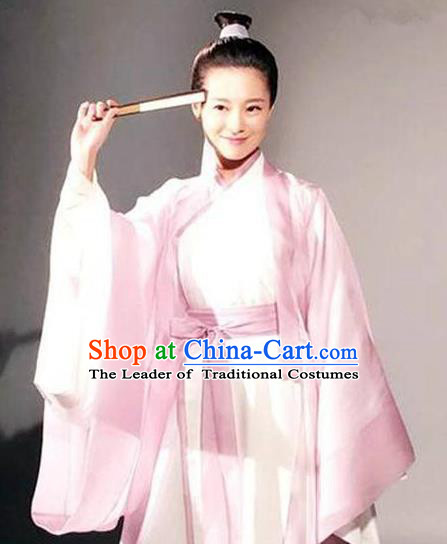 Traditional Ancient Chinese Imperial Prince Costume Complete Set, Elegant Hanfu Nobility Childe Robe, Chinese Cosplay Teleplay Ten great III of peach blossom Role Scholar Clothing for Men