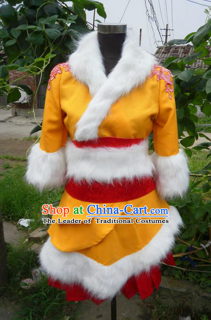 Traditional Ancient Chinese Classical Cartoon Character Uniform Cosplay Game Role Qin Dynasty Winter Costume Complete Set for Women