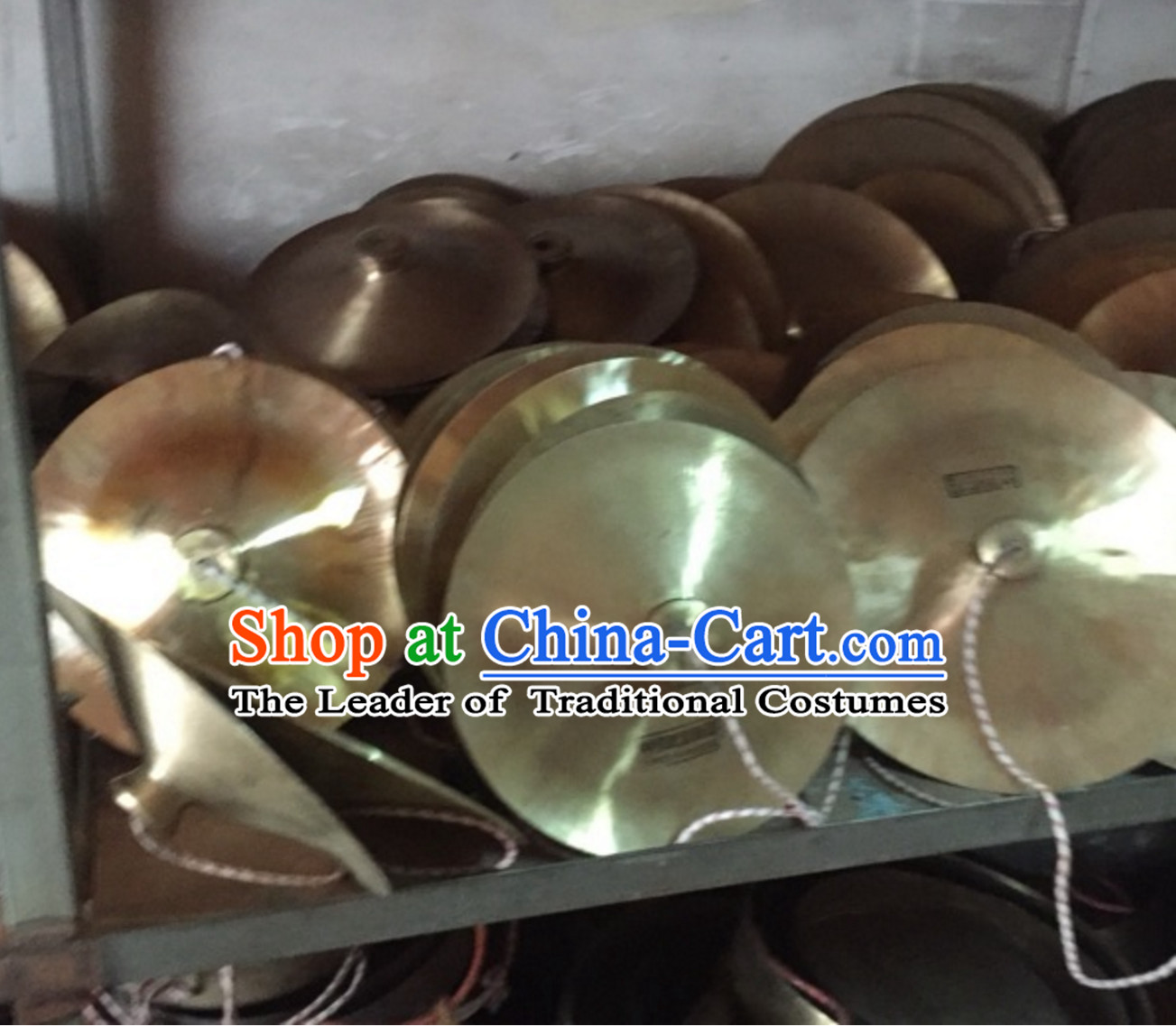 12 Inches Lion Dance Cymbals