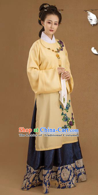 Traditional Ancient Chinese Imperial Emperess Costume, Chinese Ming Dynasty Palace Lady Dress, Cosplay Chinese Imperial Princess Clothing Hanfu for Women