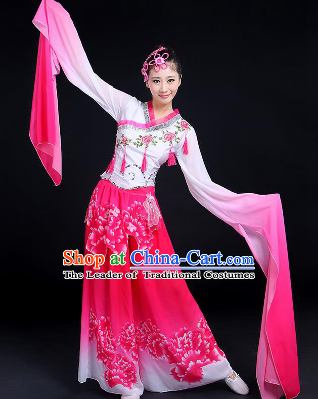 7eaeac9b7 Traditional Chinese Ancient Yangge Fan Dancing Costume