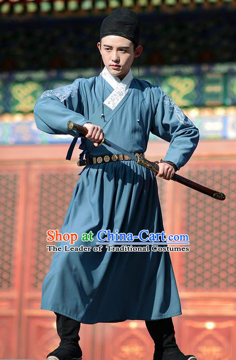 Traditional Chinese Ancient Han Dynasty Jiang Hu Swordswoman Flying Fish Suit Secret Service of Ming Dynasty Costume Complete Set for Women for Men