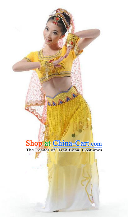 High-quality Indian Dance Costumes for Belly Dance, Raks Sharki Dancing Cloth for Women
