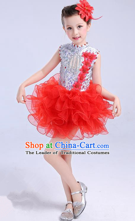 b97f65615 Top Grade Chinese Professional Performance Jazz Dance Costume ...