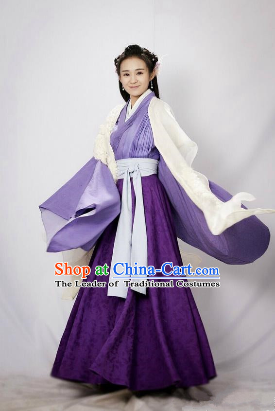 Traditional Chinese Ancient Song Dynasty Imperial Princess Costumes and Handmade Headpiece Complete Set, China Ancient Nobility Lady Hanfu Clothing