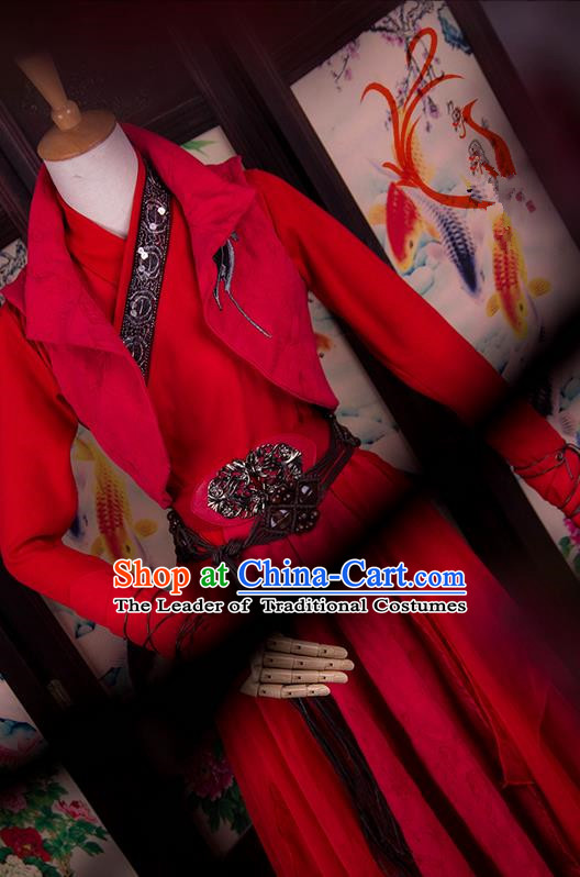 Traditional Chinese Imperial Consort Costume, Elegant Hanfu Cosplay Princess Clothing Ancient Chinese Dress for Women