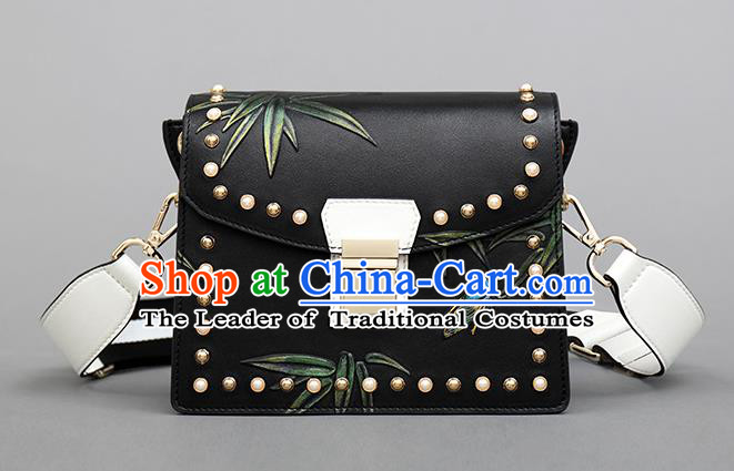 Traditional Handmade Asian Chinese Element Clutch Bags Shoulder Bag National Knurling Haversack Handbag for Women