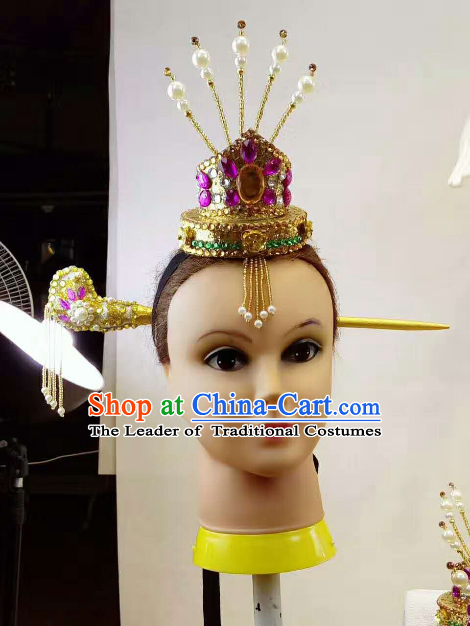 Professional Stage Performance Korean Hat Made to Order Custom Tailored Head Wear Classical Headpieces Hair Accessories