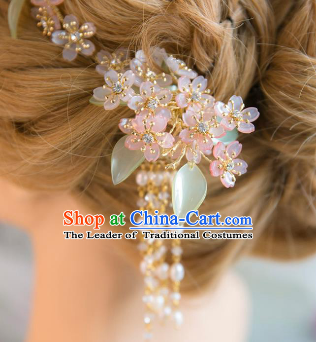 Chinese Hair Jewelry Accessories Hairpins Headwear Headdress Hair Crown for Women
