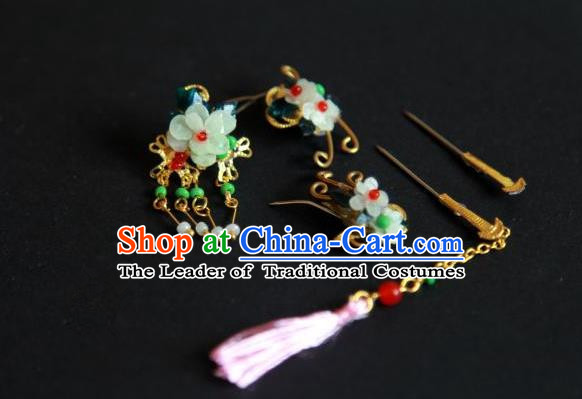 Traditional Handmade Chinese Ancient Classical Hair Accessories Bride Wedding Barrettes Empress Phoenix Coronet Hairpins