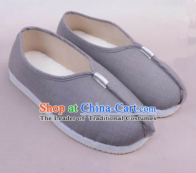 Traditional Beijing Opera Takefu Cloth Shoes, Ancient Chinese Peking Opera Monk Shoes