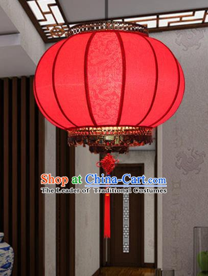 Traditional Chinese Handmade Red Lantern Classical Palace Lantern China Ceiling Palace Lamp