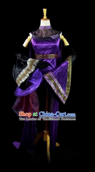 Traditional Chinese Cosplay Ancient Palace Lady Princess Costume for Women