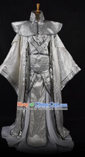 Traditional Chinese Ancient Prince Costume, China Tang Dynasty Royal Highness Clothing for Men