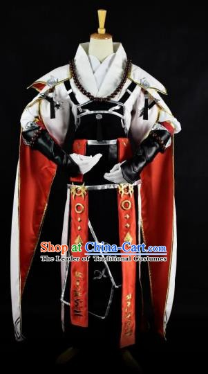 Traditional Chinese Ancient Swordsman Costume, China Tang Dynasty Royal Highness Clothing for Men