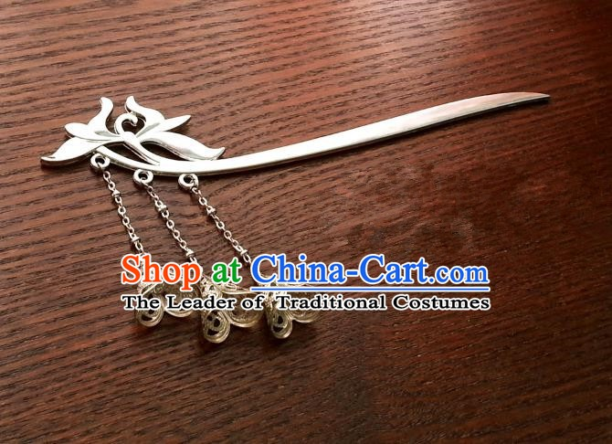 Handmade Traditional Chinese Classical Hair Accessories Ancient Hanfu Hairpins for Women