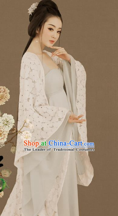 Traditional Chinese Tang Dynasty Imperial Consort Costume, China Ancient Palace Lady Hanfu Clothing for Women