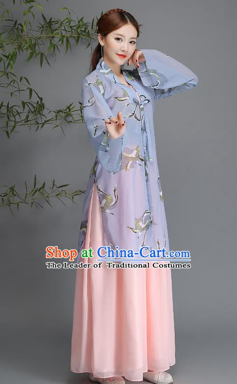 Traditional Chinese Ancient Palace Lady Costume, China Song Dynasty Princess Hanfu Clothing for Women