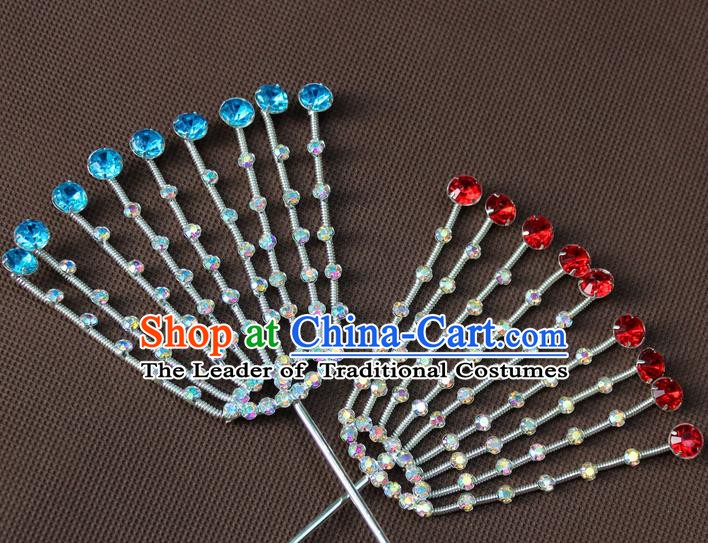 Traditional Chinese Handmade Hair Accessories Princess Hairpins Headwear for Women