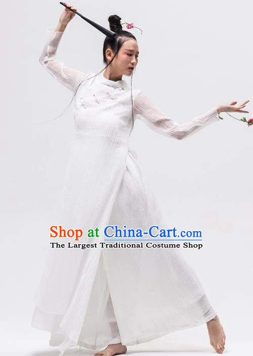 Chinese National Costume Traditional Cheongsam Tang Suit Qipao Dress for Women