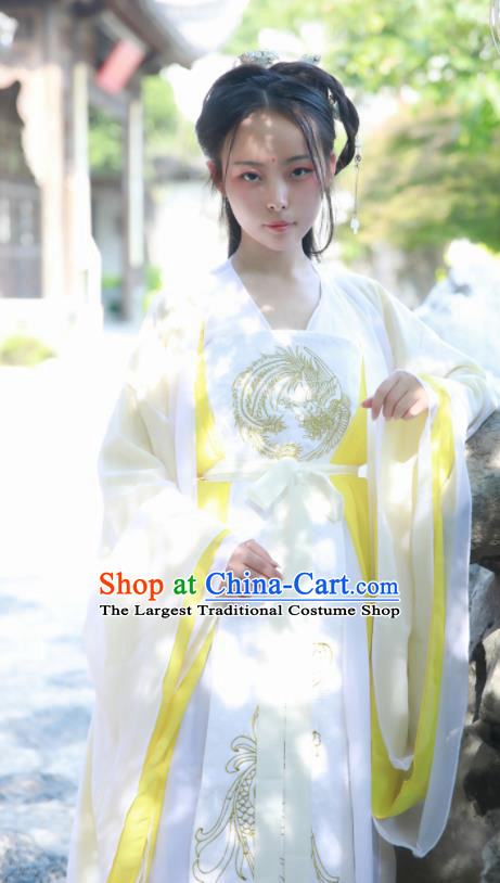 Chinese Ancient Imperial Consort Hanfu Dress Tang Dynasty Palace Lady Historical Costumes for Women
