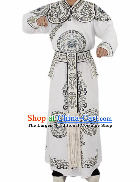 Chinese Traditional Peking Opera Takefu Costumes Ancient Swordsman Clothing for Men