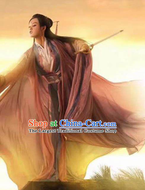 Traditional Chinese Ancient Jin Dynasty Swordswoman Princess Costumes for Women