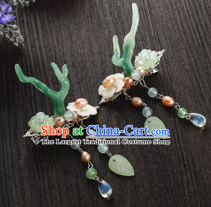 Chinese Ancient Princess Hair Accessories Palace Antlers Hair Sticks for Women