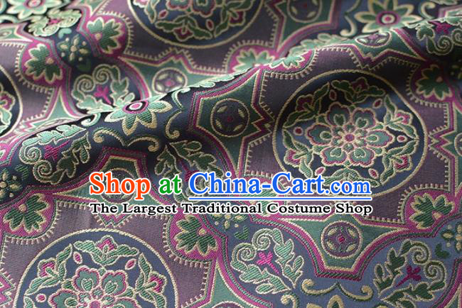 Asian Chinese Traditional Pattern Design Brocade Fabric Chinese Costume Silk Fabric Material