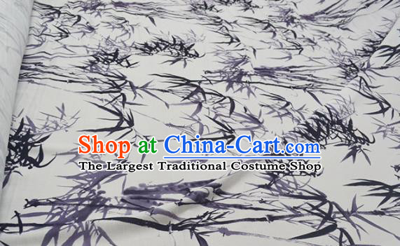 Chinese Royal Brocade Palace Traditional Printing Bamboo Silk Fabric Chinese Fabric Asian Material