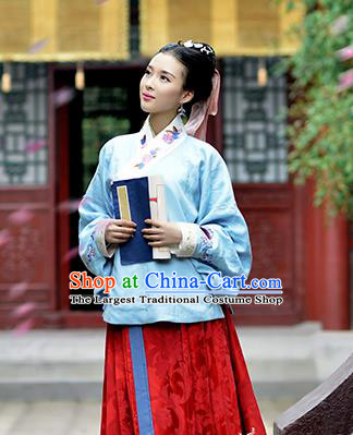 Chinese Ancient Nobility Lady Costumes Traditional Ming Dynasty Princess Hanfu Dress for Women