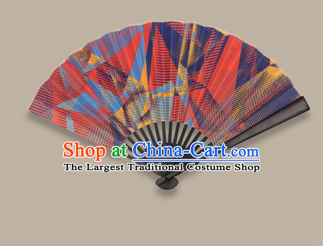 Chinese Traditional Crafts Printing Folding Fans Paper Fans Accordion Fan