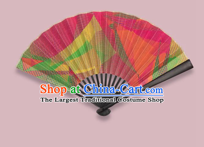 Chinese Traditional Crafts Folding Fans Printing Paper Fans Accordion Fan