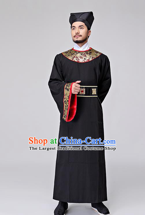 Chinese Ancient Drama Costumes Song Dynasty Minister Clothing for Men