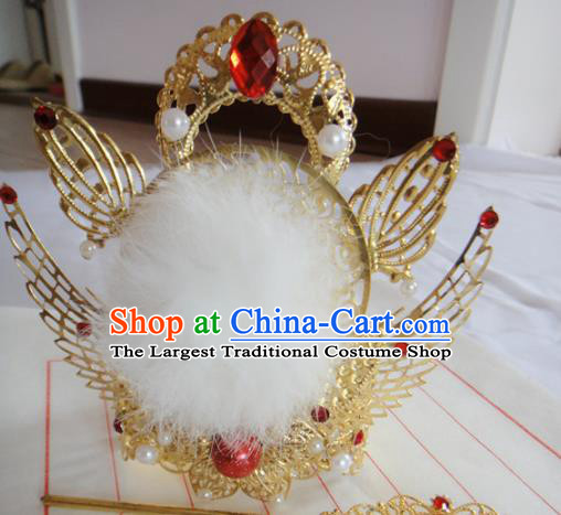 Chinese Traditional Classical Hair Accessories Ancient Nobility Childe Hair Crown for Men