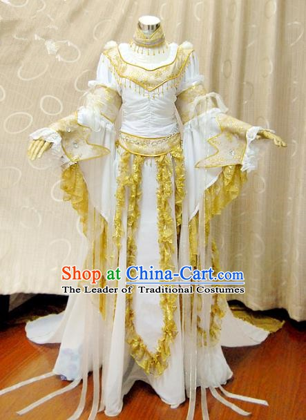 China Ancient Cosplay Princess Clothing Traditional Tang Dynasty Palace Lady Dress for Women