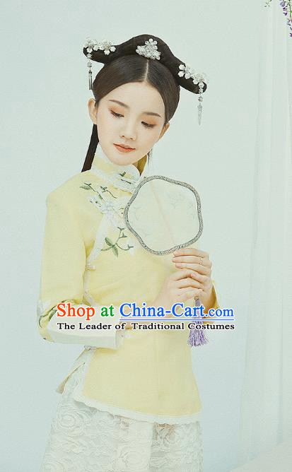 China Ancient Republic of China Nobility Lady Embroidered Costume for Women