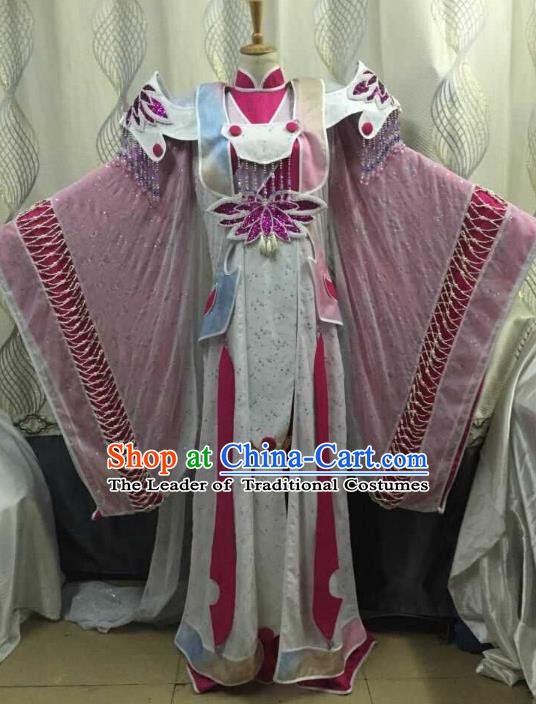 China Ancient Cosplay Palace Lady Costume Swordswoman Fancy Dress Traditional Hanfu Clothing for Women
