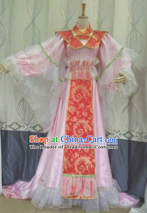 China Ancient Cosplay Costume Palace Princess Fancy Dress Traditional Hanfu Clothing for Women
