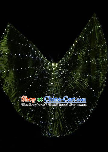 Top Stage Performance Props Led Lights Wing Shine Cloak