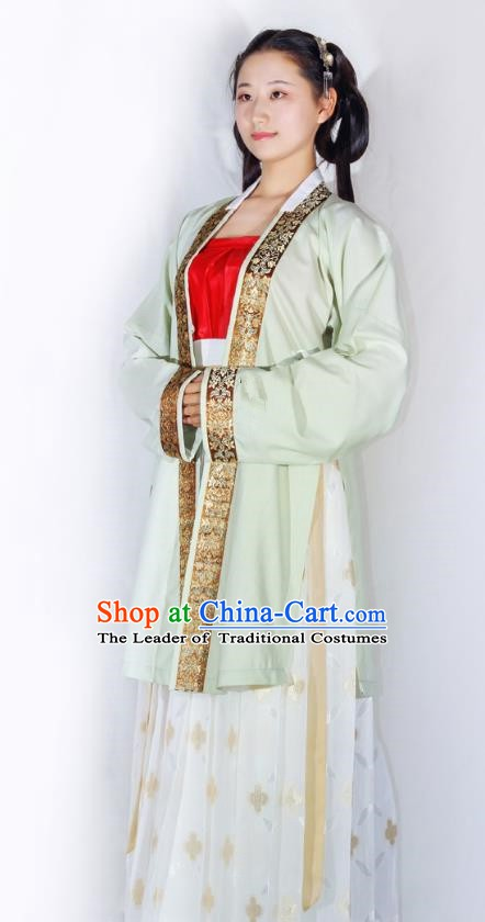 Traditional China Ancient Costume Song Dynasty Princess Hanfu Clothing for Women