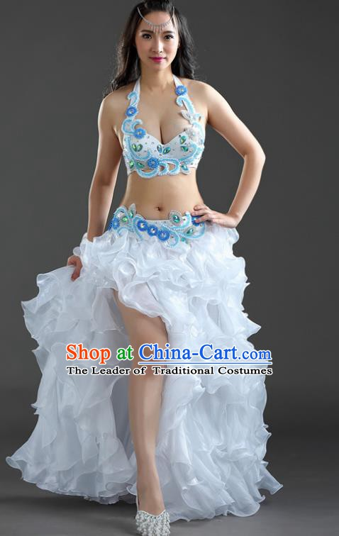 Indian National Belly Dance Dress India Bollywood Oriental Dance Costume for Women