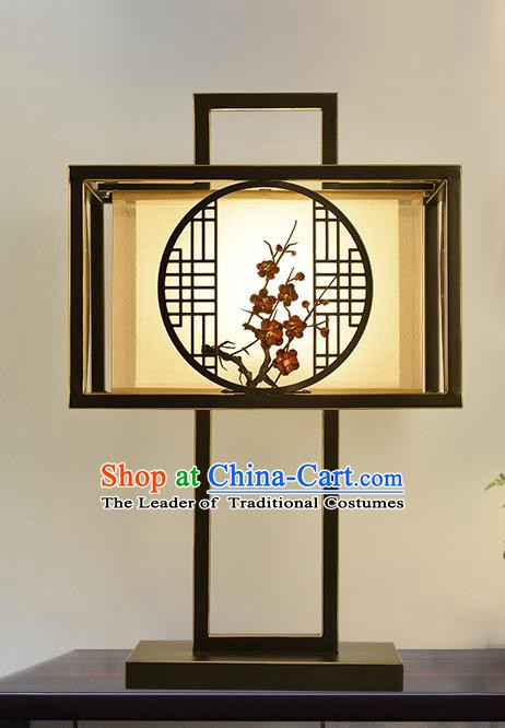 Traditional China Ancient Palace Desk Lanterns Handmade Plum Blossom Table Lantern Ancient Lamp